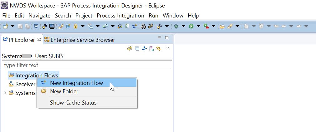 SAP XI/PI/PO – Create, Configure & Deploy an iFlow (Integration Flow) to SAP PI using NetWeaver Developer Studio (NWDS)